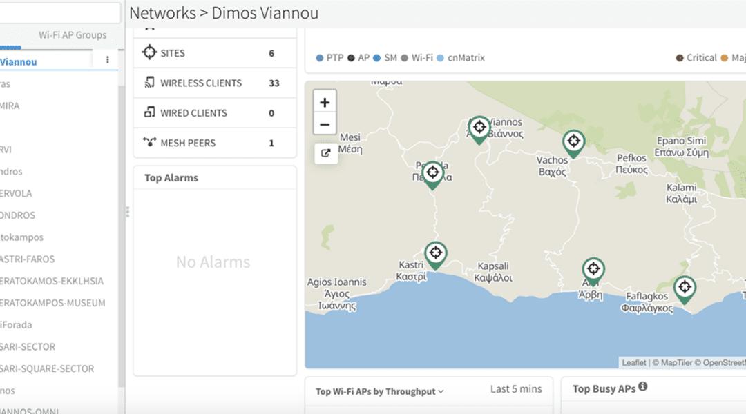 Στον Δήμο Βιάννου η πρώτη υλοποίηση WiFi4EU από τη Euroaxes